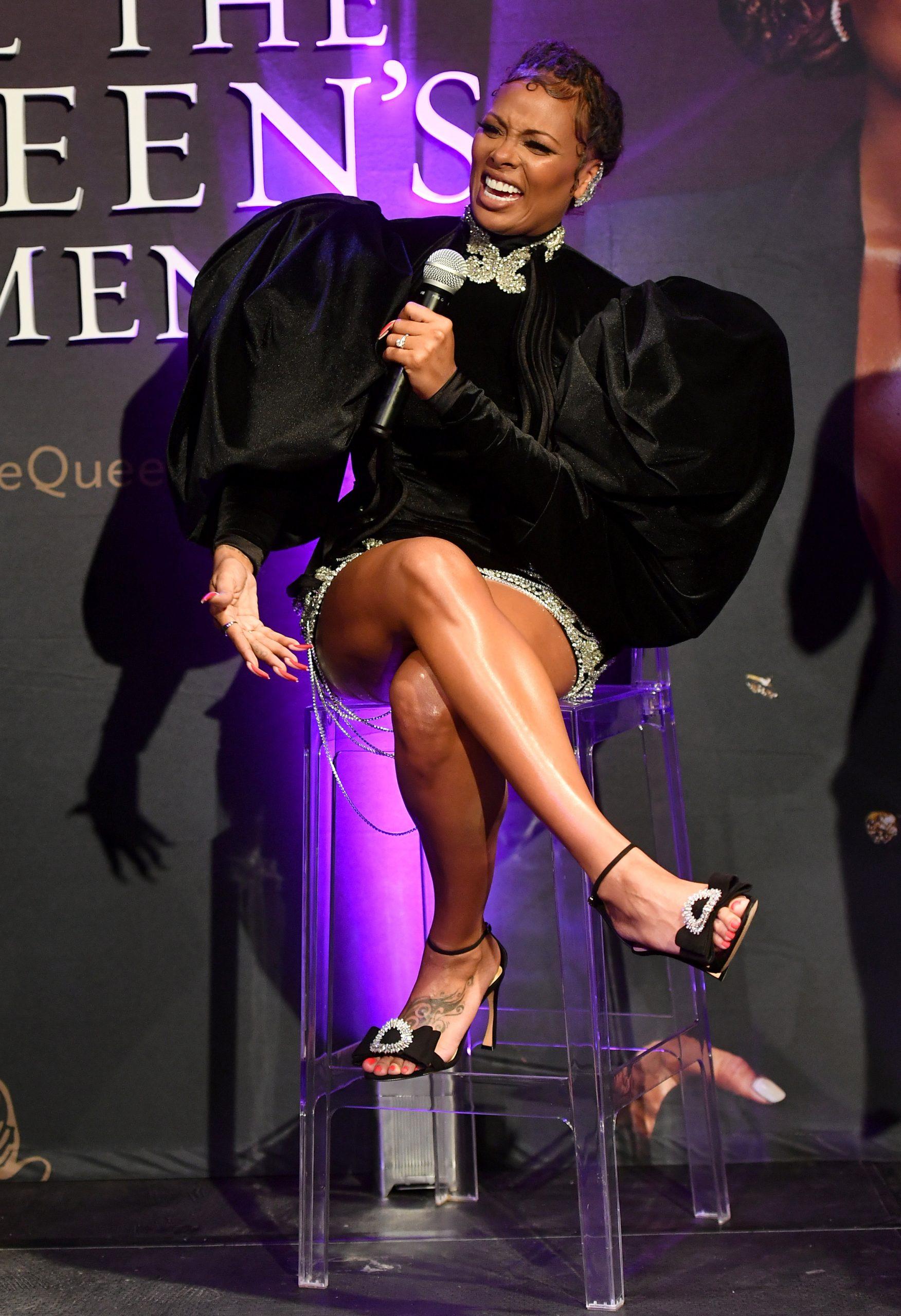 Wardrobe Breakdown: Eva Marcille At The All The Queen's Men Premiere In ATL
