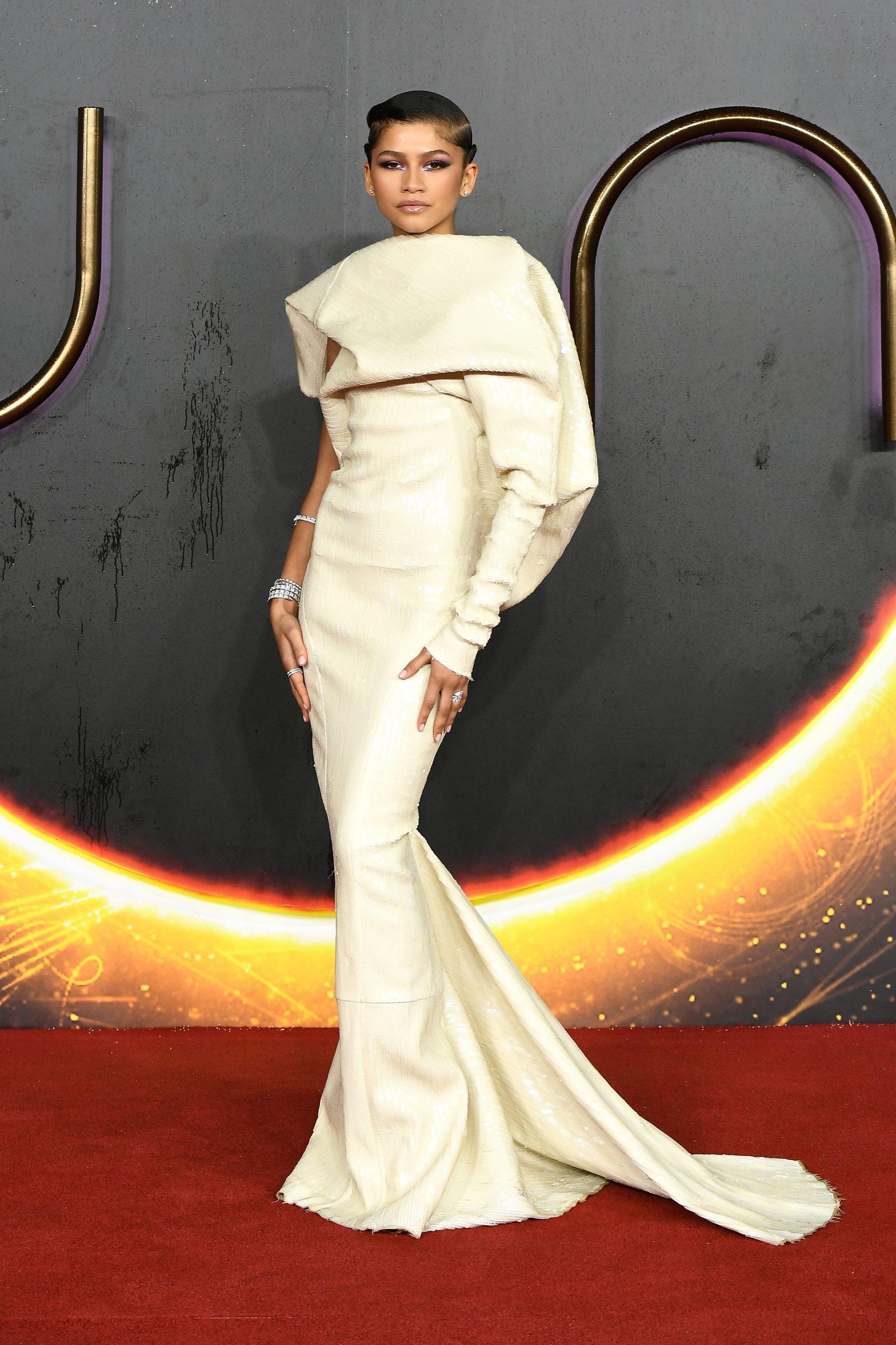 Wardrobe Breakdown: Zendaya Coleman At UK 'Dune' Special Screening