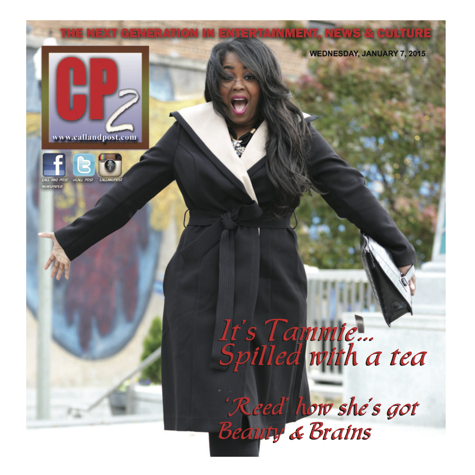 Media Alert: Talking With Tami Covers Call & Post Newspaper!