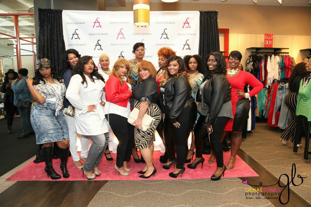 Ashley Stewart's #LoveYourCurves Fashion Show In Atlanta