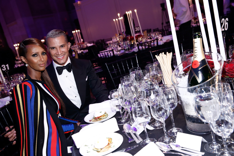 Chris Rock, Anna Wintour, Rosario Dawson & More Attend amfar Gala In NYC