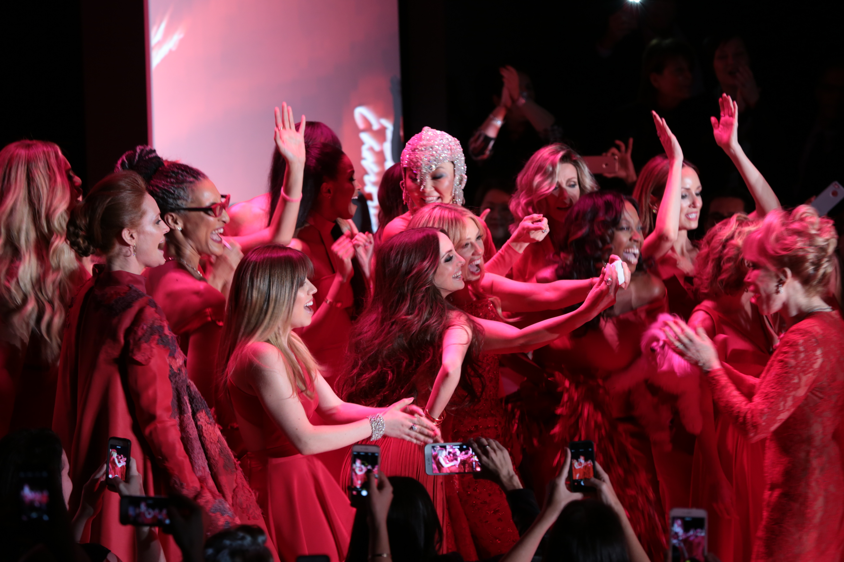 Go Red for Women, Red Dress Collection #NYFW