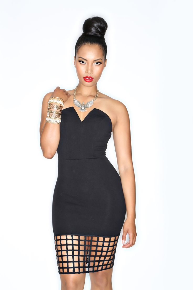 Currently Obsessed With: Swank Blue Matrix Dress