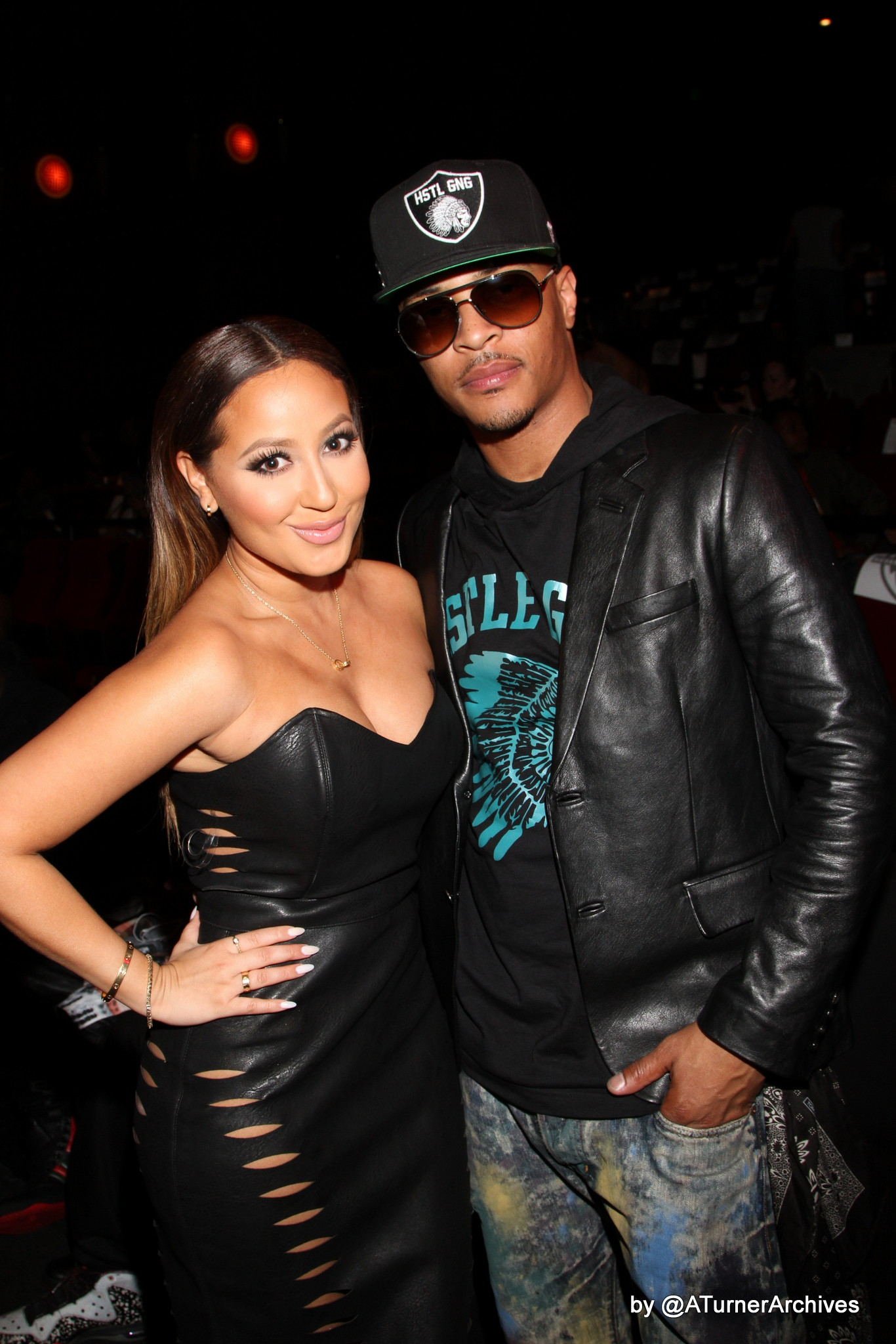 T.I. , Russell Simmons, Adrienne Bailon & More At 'Get Hard' Screening In L.A.!
