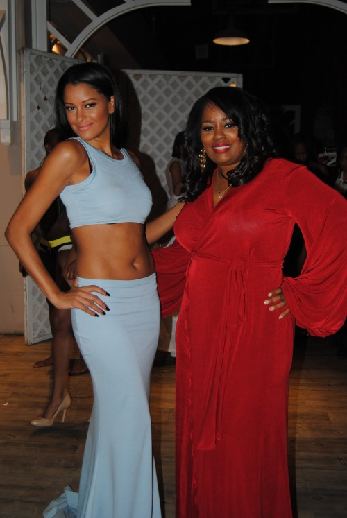TWT TEA: Things NOT So Peachy Over At 'The Rickey Smiley Show' For Claudia Jordan?