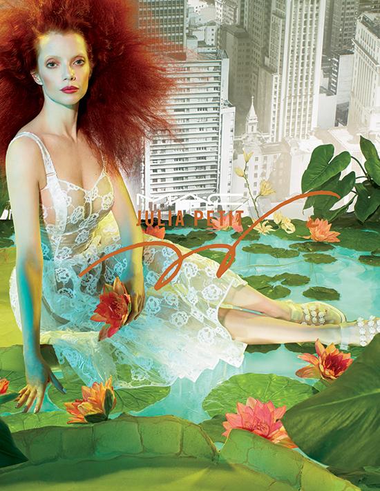 M·A·C Presents… M·A·C  x Julia Petit Spring  Collection