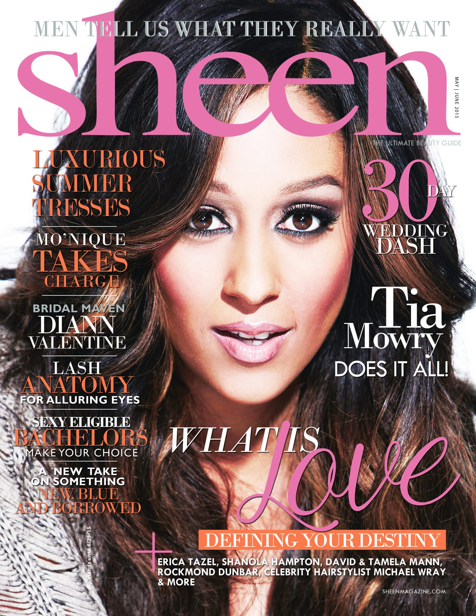 Tia Mowry For Sheen Magazine