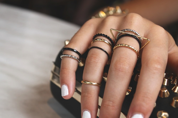 Fashion Trend: Stacked Rings