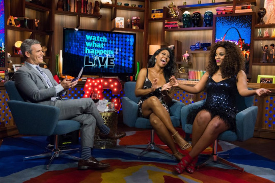 In Case You Missed It: Kenya Moore & Daisy Lewellyn Stops By Watch What Happens Live