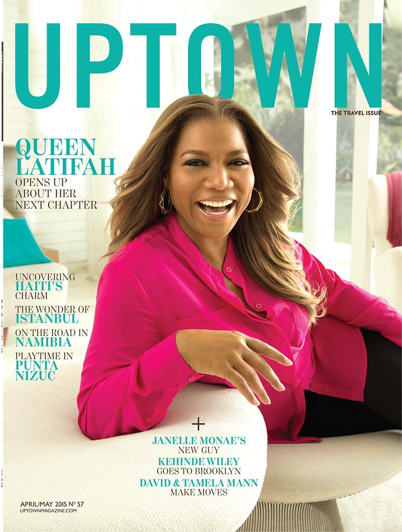 Queen Latifah For Uptown Magazine