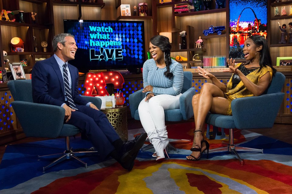 In Case You Missed It: Brandi & Kandi Burruss Stop By 'Watch What Happens Live'