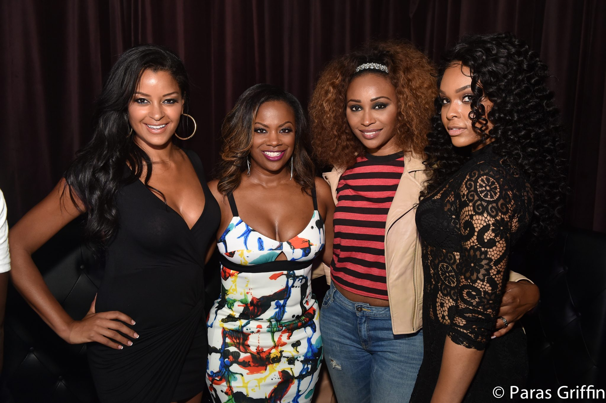 Kandi Burruss's Private Viewing Party For Her Spin-Off Show 'Kandi's Ski Trip'