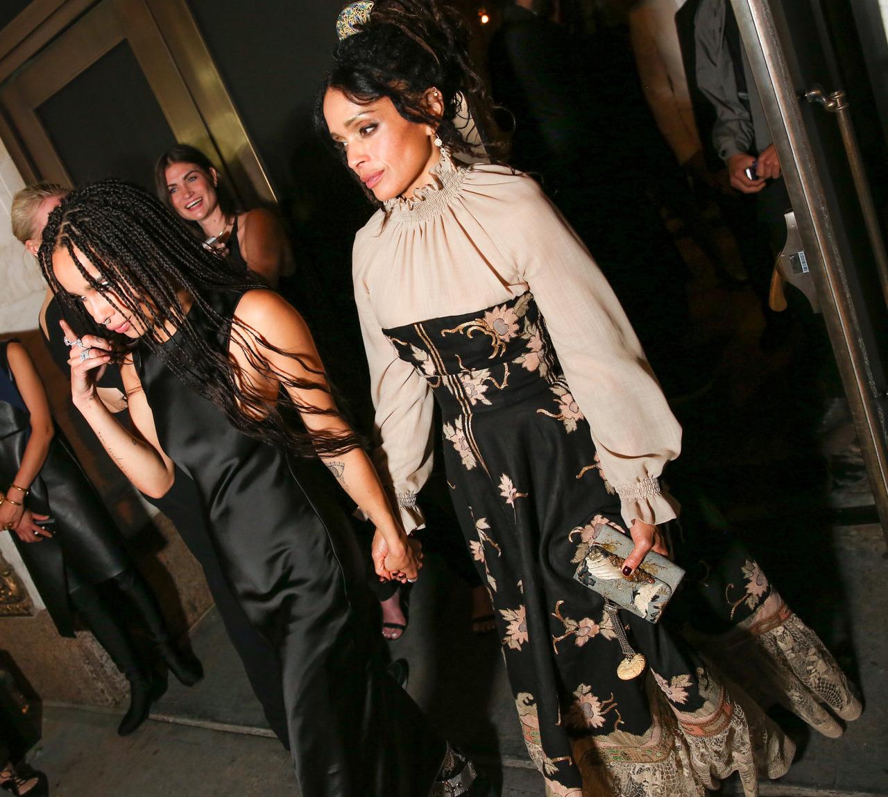 Wardrobe Breakdown: Lisa Bonet At Met Ball 2015