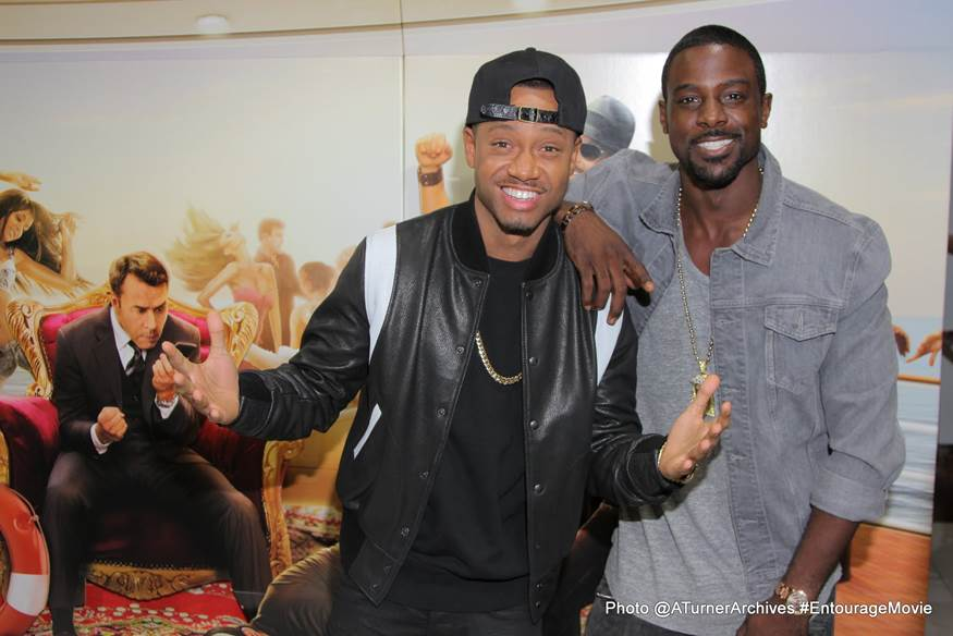 """Terrence J, Lance Gross & More Attend 'Entourage' """"KICK IT"""" Event in L.A."""