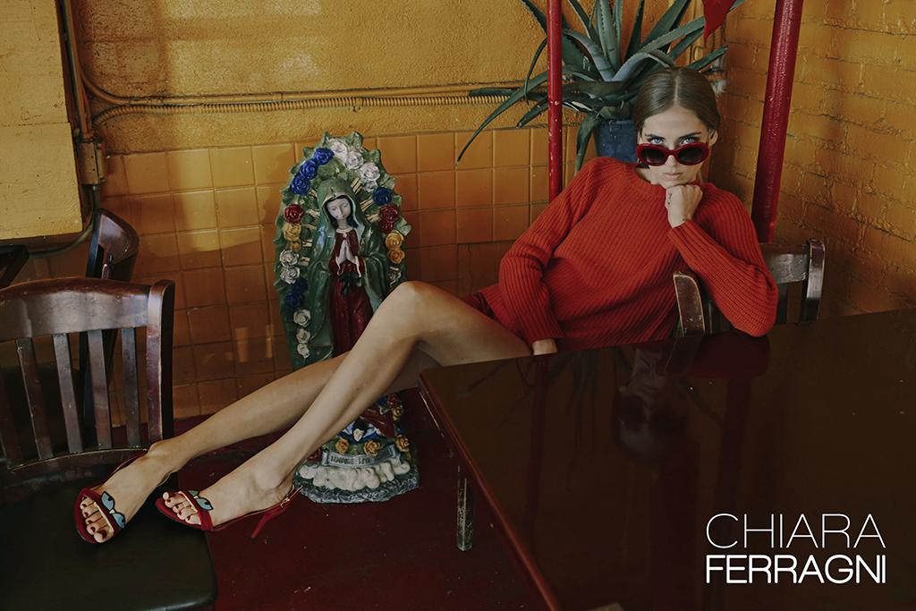 Fashion Blogger Chiara Ferragni Launches New Fall Shoe Campaign