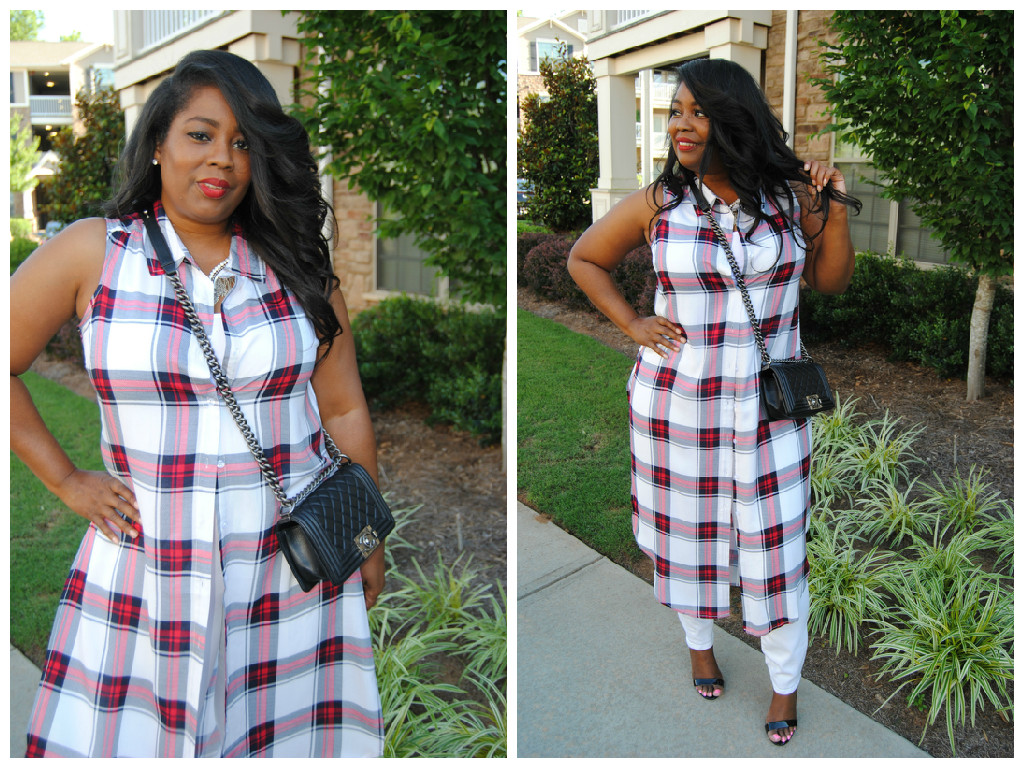My Style: Plaid Duster