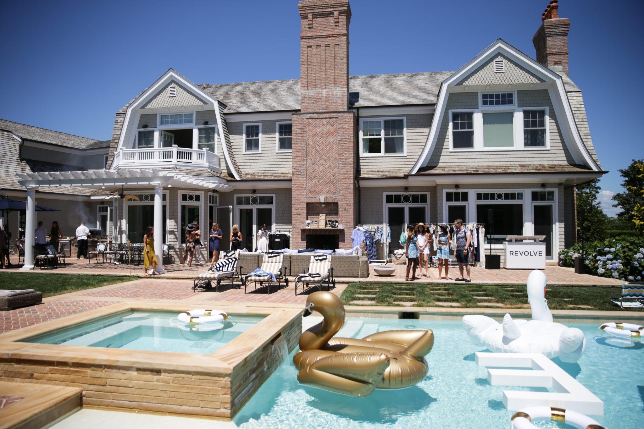 Olivia Palermo's Moet Brunch at REVOLVE Hamptons