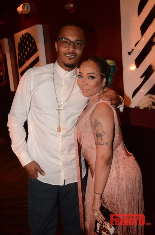 T.I. Throws Tiny A Surprise Birthday Party