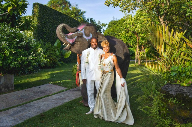 Actor Michael Jai White Weds Gillian Waters In Thailand