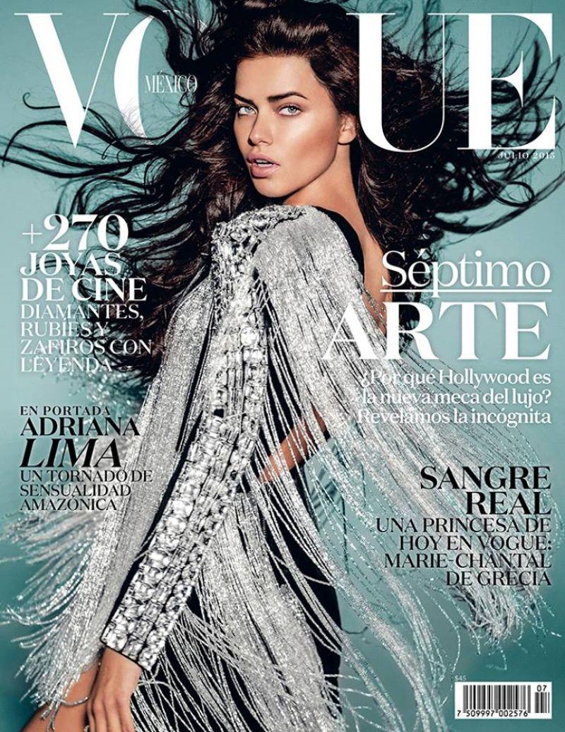 Wardrobe Breakdown: Adriana Lima For Vogue Mexico