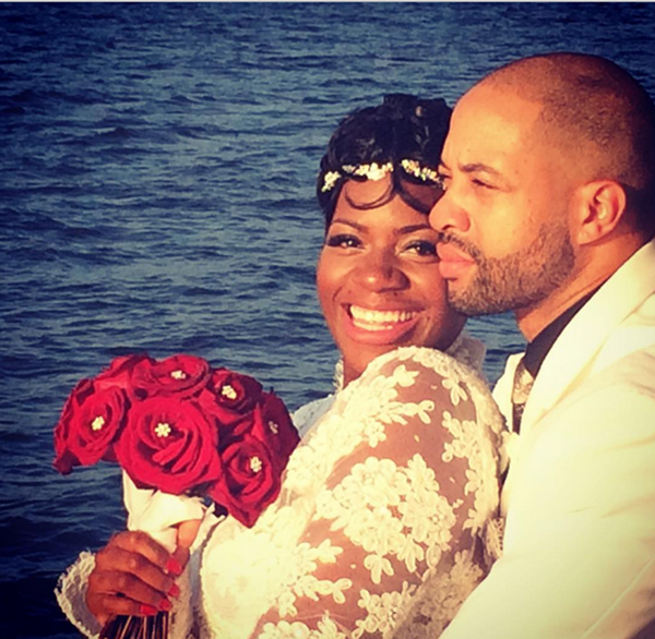 Fantasia Ties The Knot…Oh!