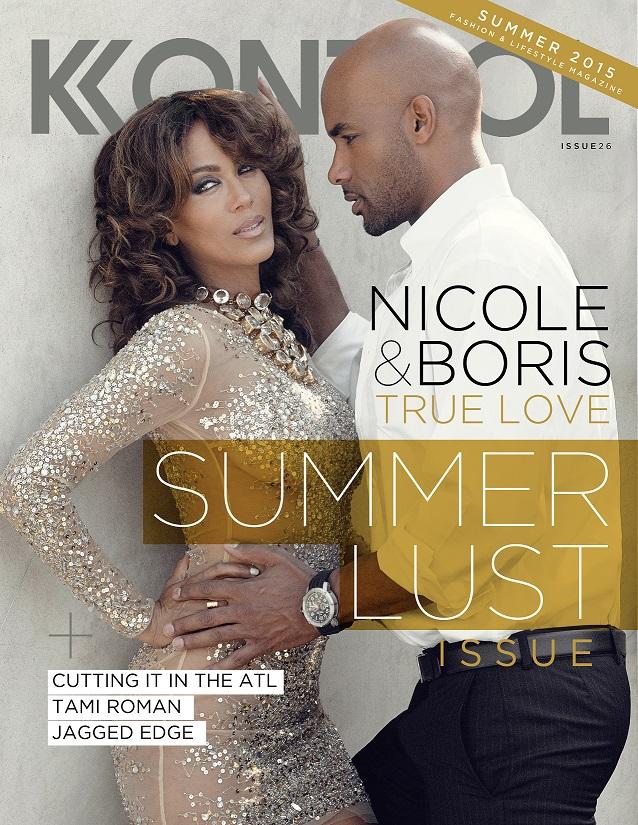Boris Kodjoe & Nicole Ari Parker For Kontrol Magazine
