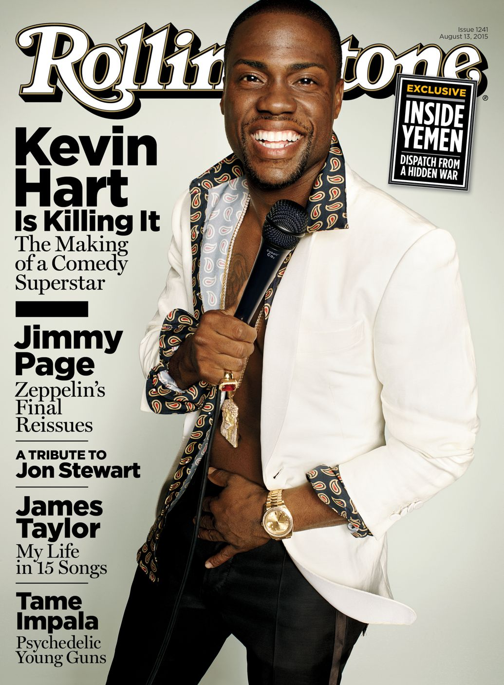 Kevin Hart For Rolling Stone