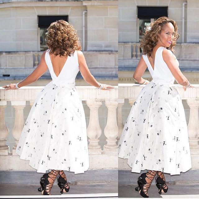 Wardrobe Breakdown: Marjorie Harvey Paris Couture Fashion Week
