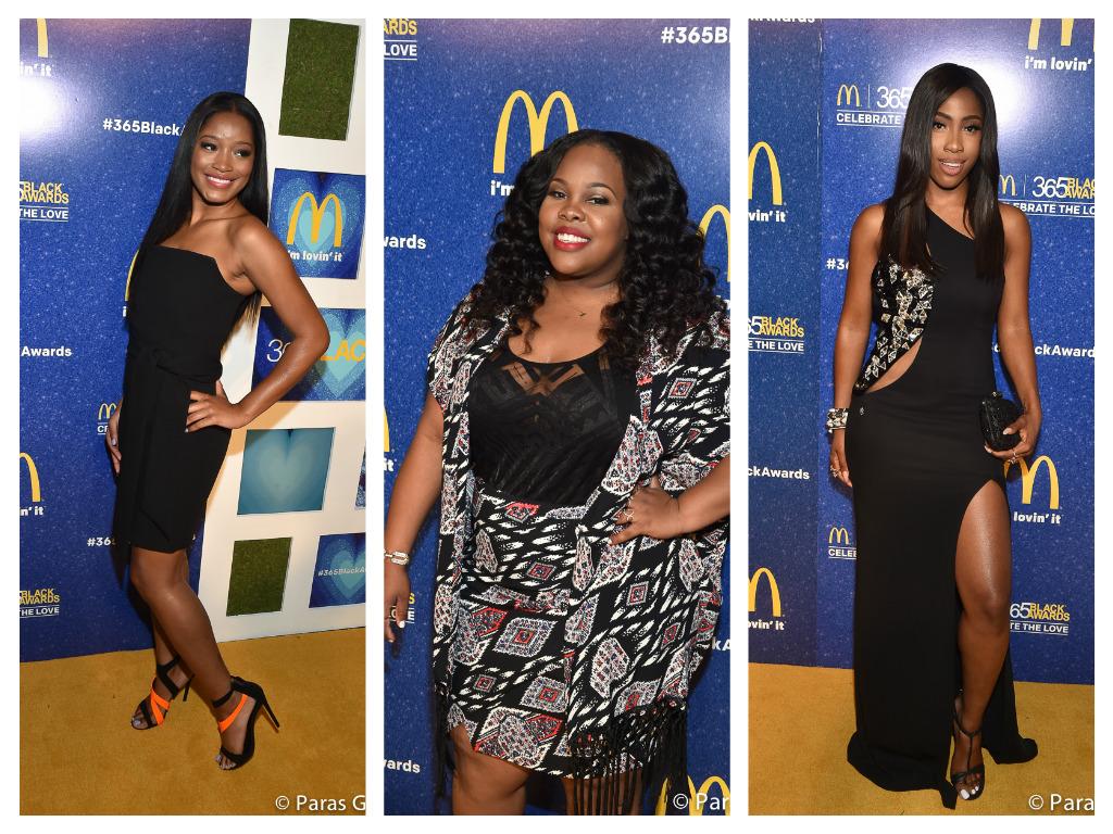 Red Carpet Arrivals: McDonalds 365 Black Awards