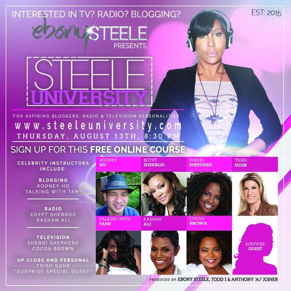 Ebony Steele Presents…Steele University