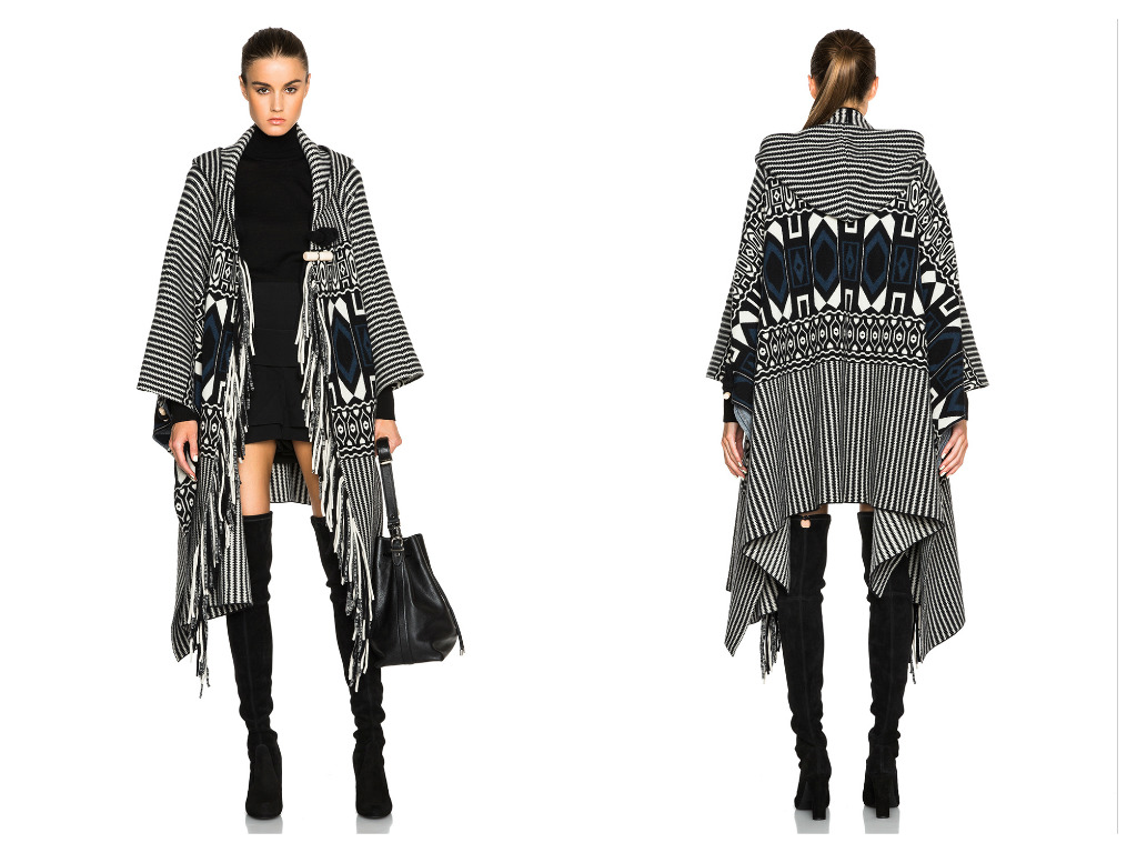 Currently Obsessed With: Chloe Felted Graphic Poncho