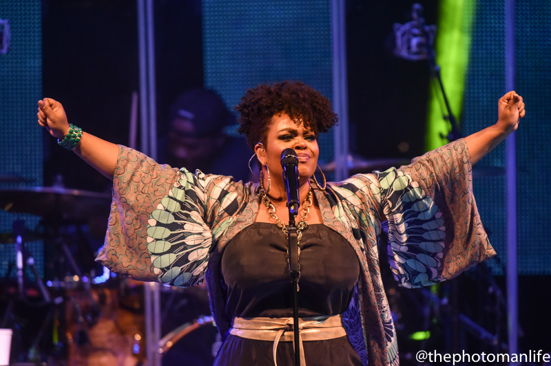 Jill Scott, Common, BJ The Chicago Kid Perform At Chastain Park In ATL