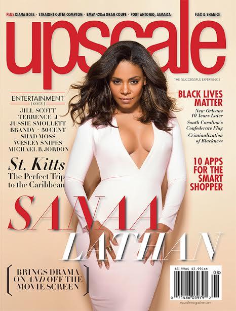 Sanaa Lathan For Upscale Magazine