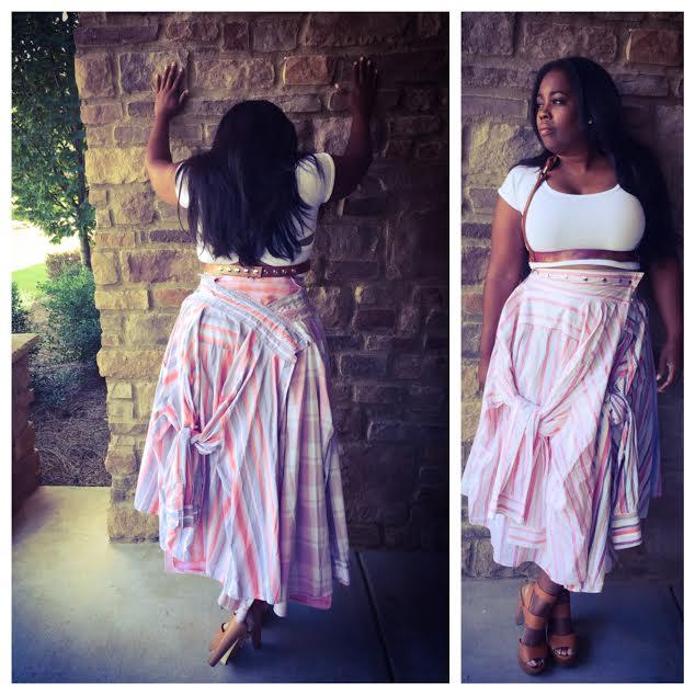 My Style: Aakofii Shirt Skirt