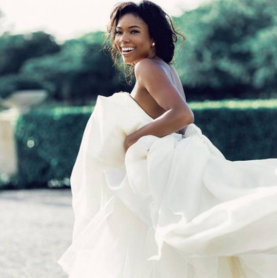 Gabrielle Union Shares New Wedding Pics