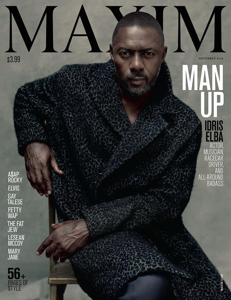 Idris Elba For Maxim
