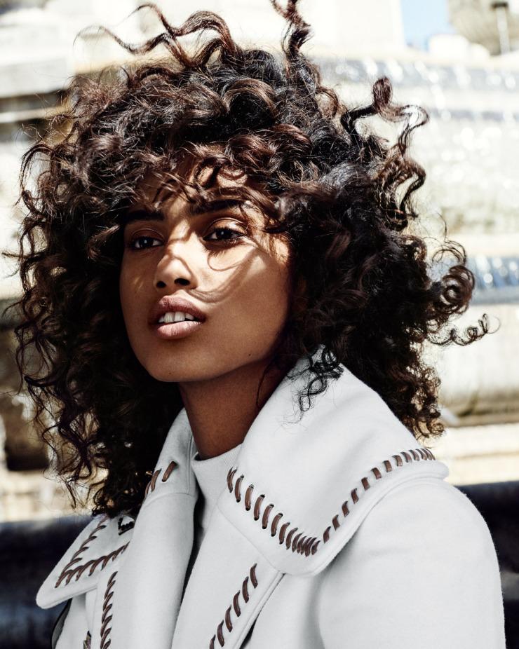 Imaan Hammam For Vogue Netherlands