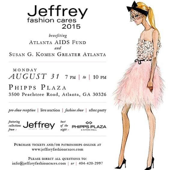 Save The Date: Jeffrey Fashion Cares 2015 Fashion Show