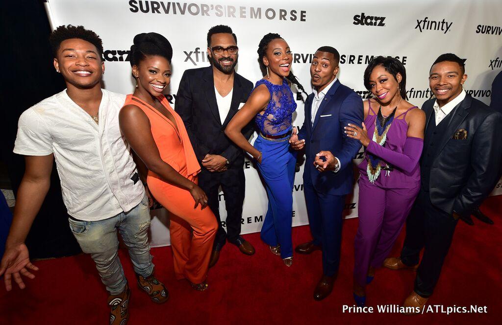 Mike Epps, Tichina Arnold, Claudia Jordan And More At 'Survivor's Remorse' Premiere