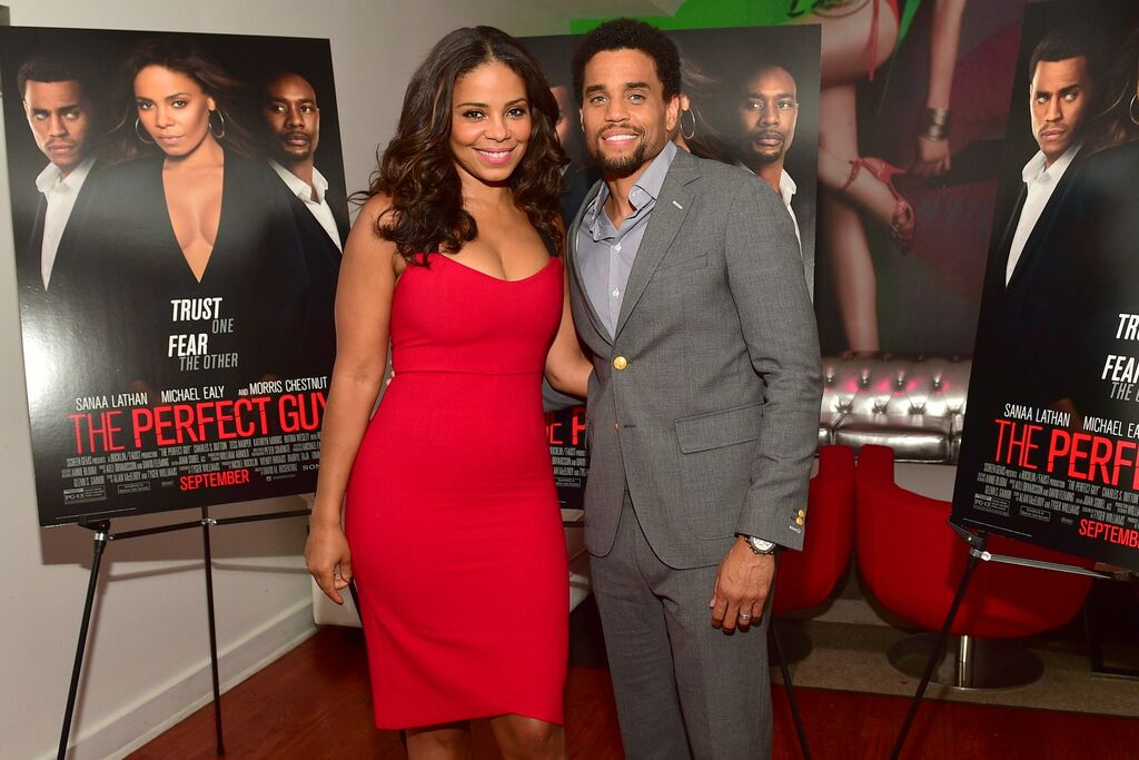 Press Dinner With Sanaa Lathan & Michael Ealy For Upcoming Film, 'The Perfect Guy'