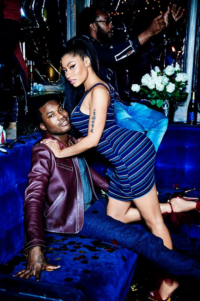 Rappers Nicki Minaj & Meek Mill For 'GQ' Magazine