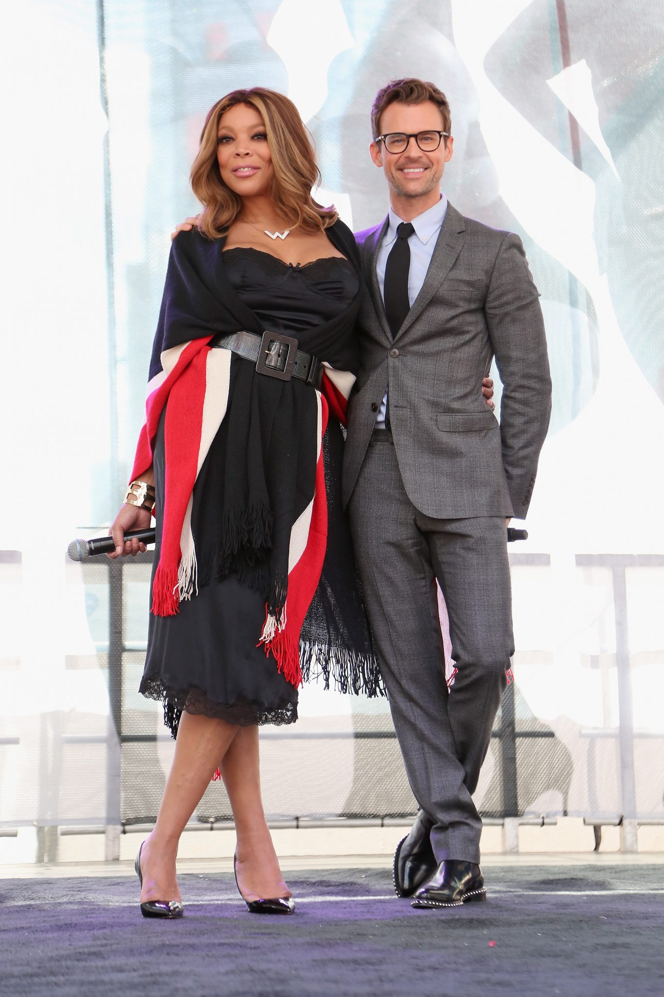 Wendy Williams And Brad Goreski Join Lane Bryant In Launching #PlusIsEqual Campaign In Times Square
