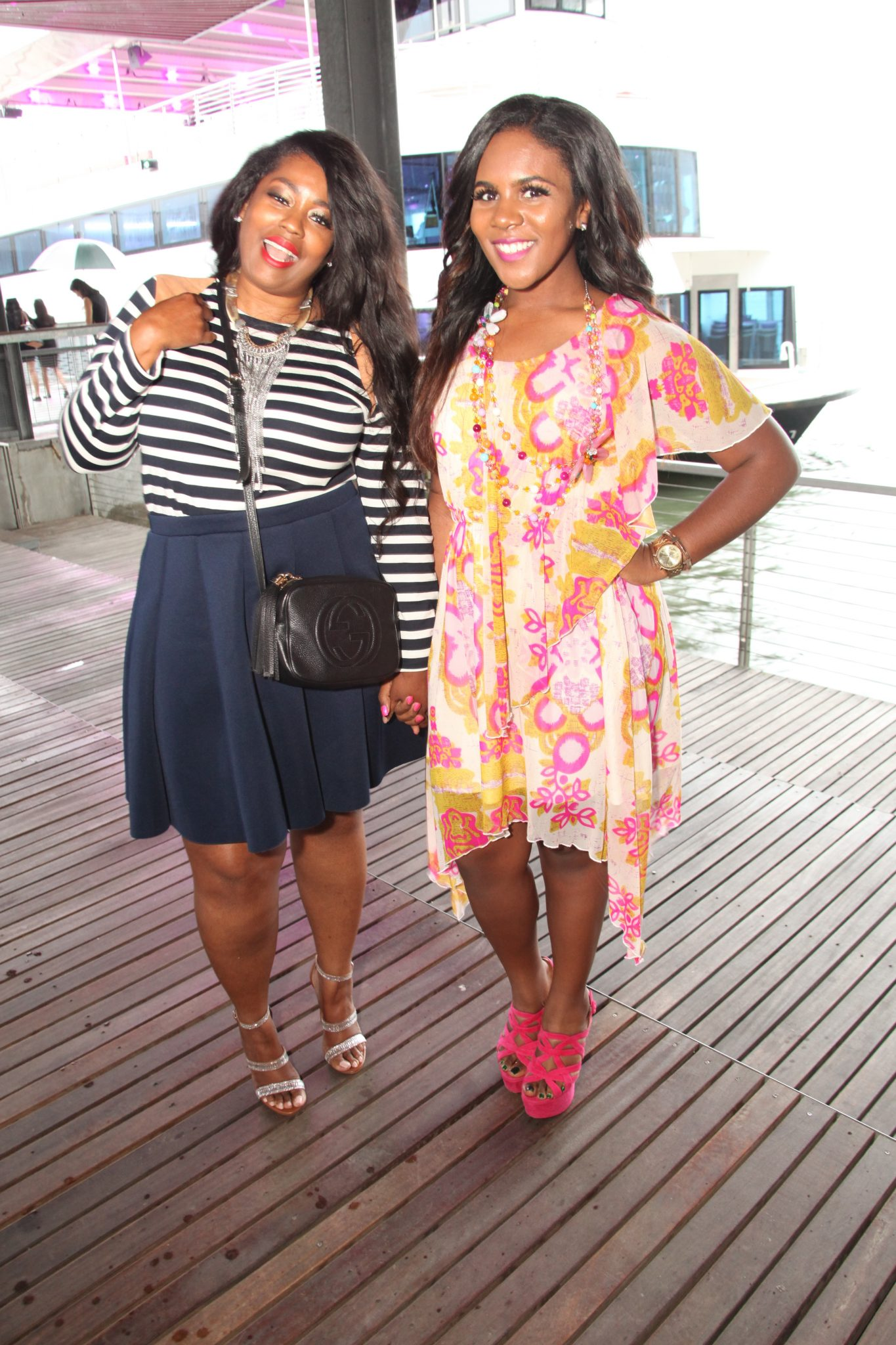 RUNWAY ON THE RIVER BOAT BASH! #NYFWCRUISE