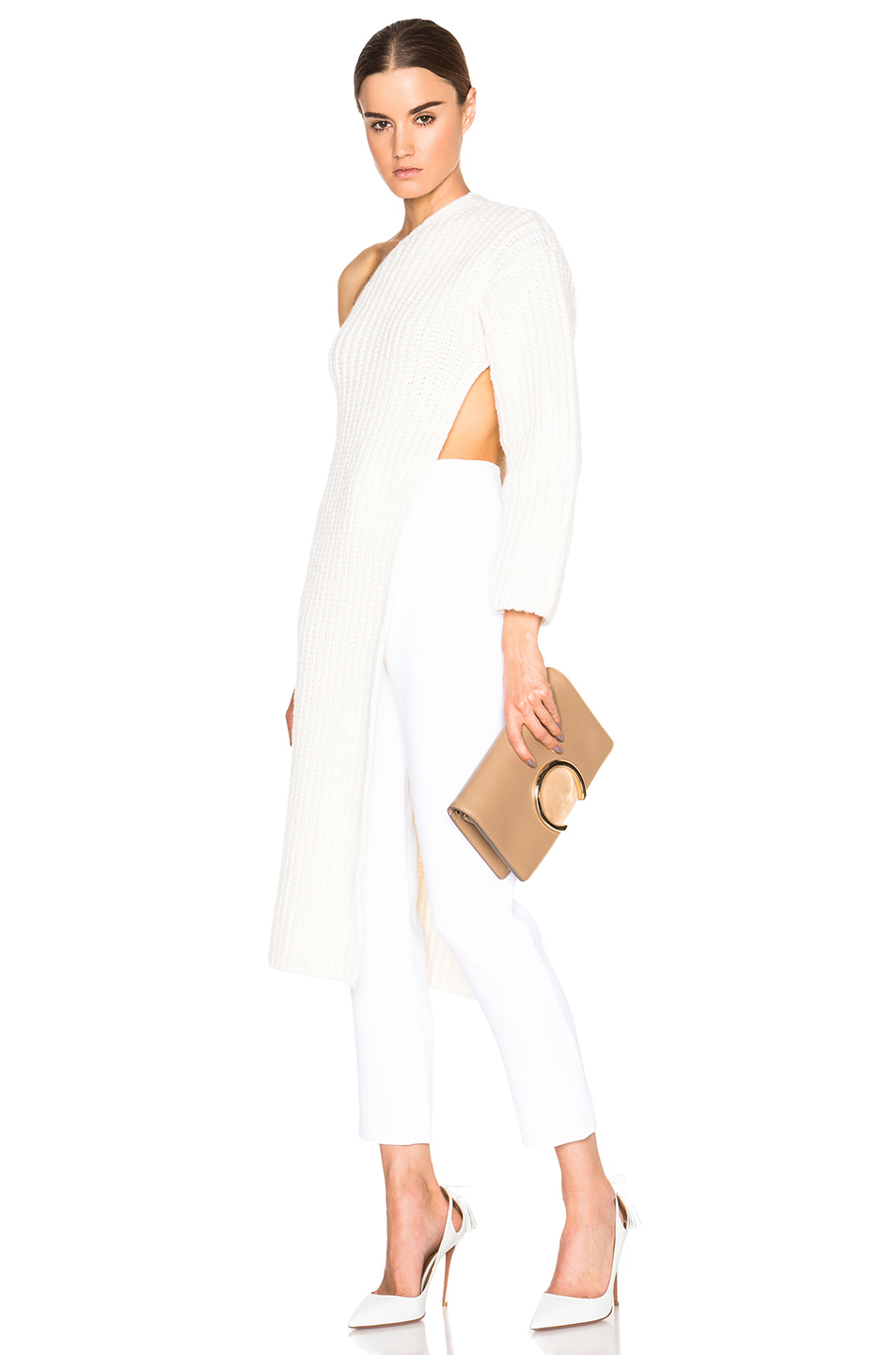 Currently Obsessed With: Stella McCarthy One Sleeve Knit Sweater