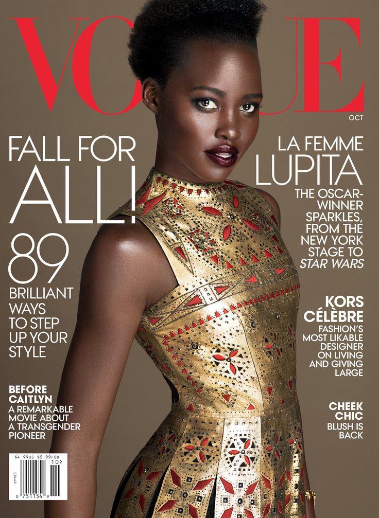 Lupita Nyong'o For Vogue