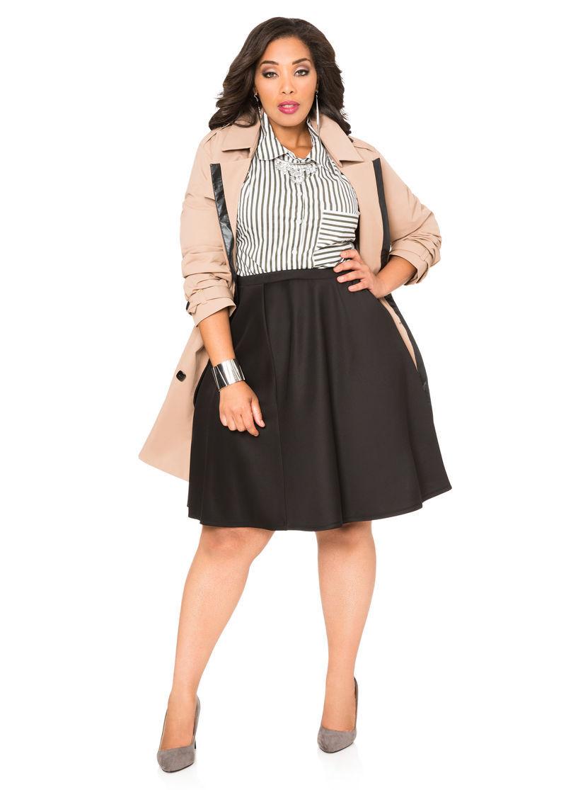Skater Skirt Plus Size