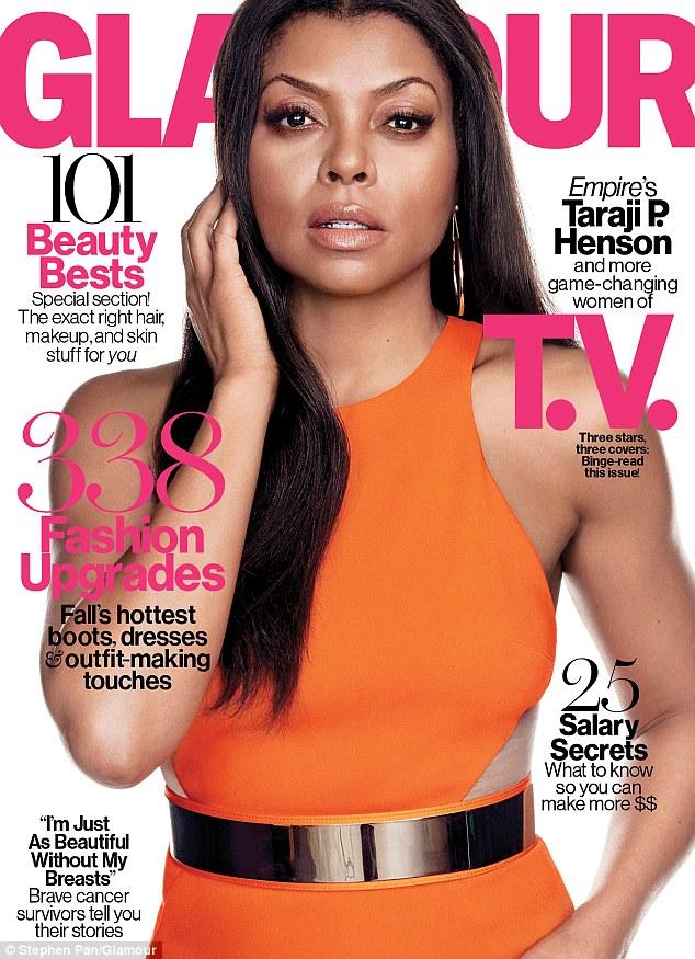 Taraji P. Henson For Glamour Magazine