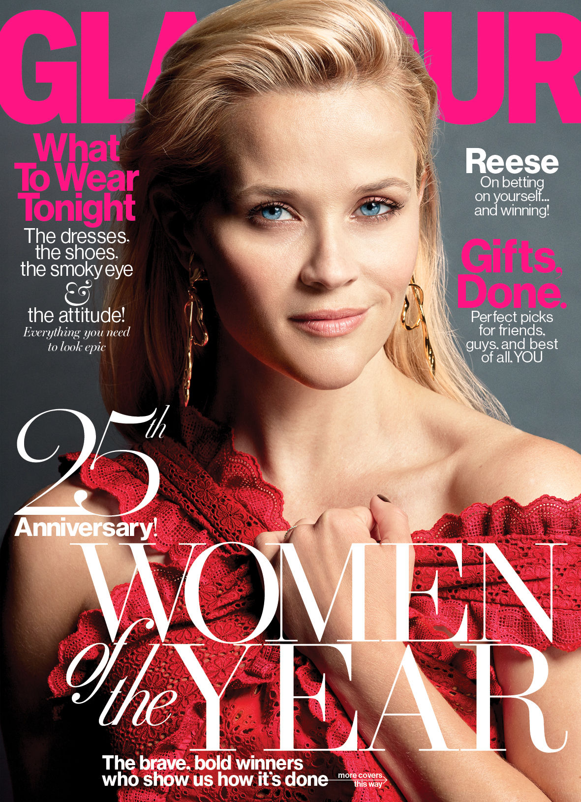 Reese Witherspoon Named One Of Glamour's 'Women Of The Year'