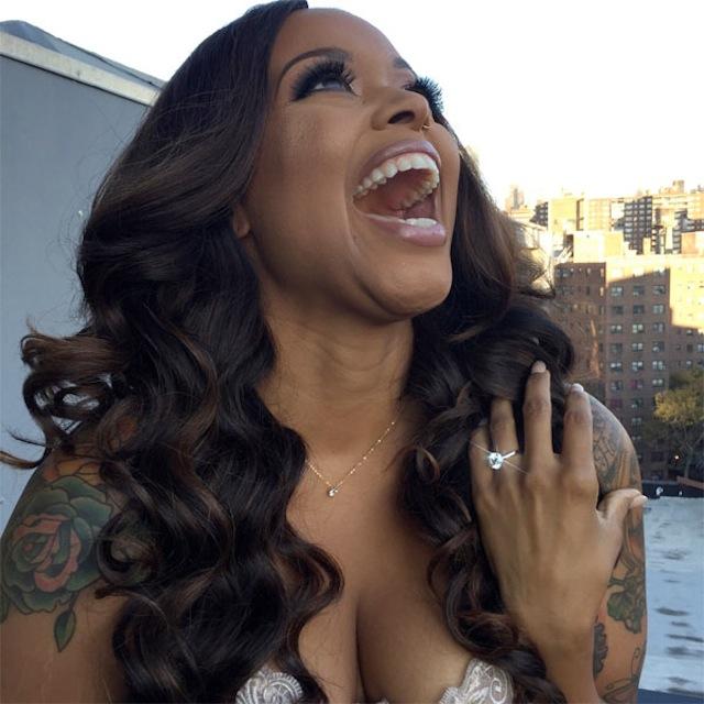 Singer Chrisette Michele Engaged!