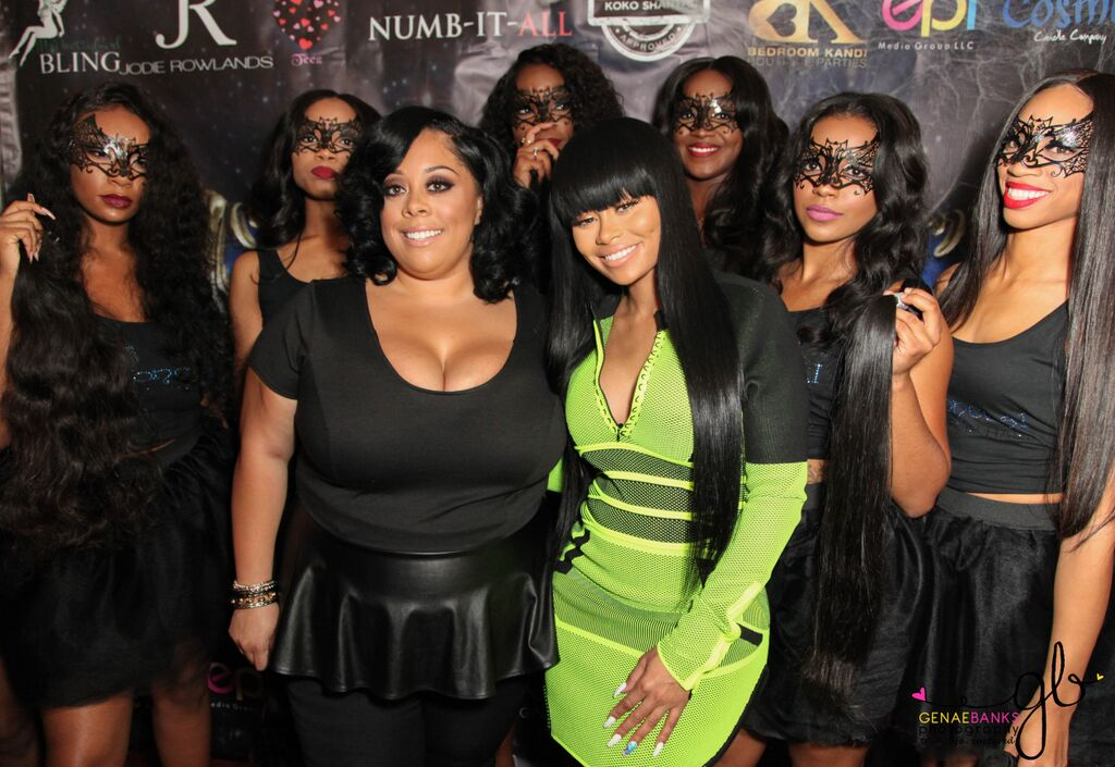 Conceal Virgin Hair Launch Party Hosted By Blac Chyna
